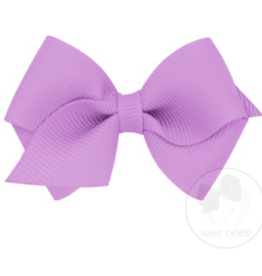 wee ones LIGHT ORCHID- WEE  CLASSIC GROSGRAIN  BOW