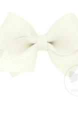 wee ones ANTIQUE WHITE - WEE CLASSIC GROSGRAIN  BOW