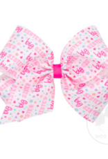 wee ones BIG SISTER - KING GROSGRAIN BOW