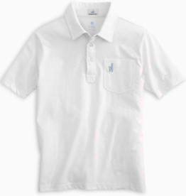 JOHNNIE O THE ORIGINAL S/S POLO SHIRT - WHITE