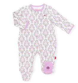 MAGNIFICENT BABY UNICORN DREAMS ORGANIC COTTON FOOTIE