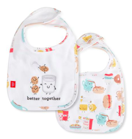 MAGNIFICENT BABY BETTER TOGETHER ORGANIC COTTON REV BIB