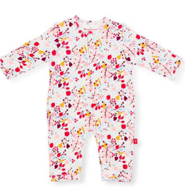 MAGNIFICENT BABY POM POM ORGANIC COTTON COVERALL