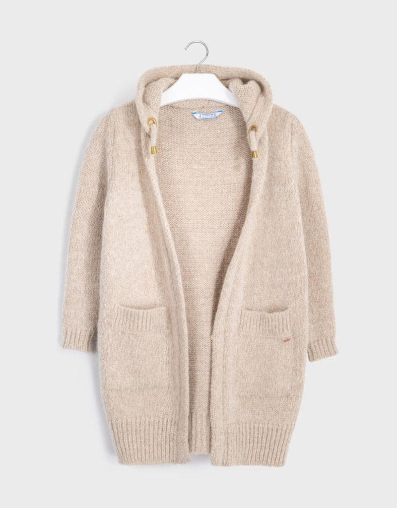 MAYORAL HOODED CARDIGAN