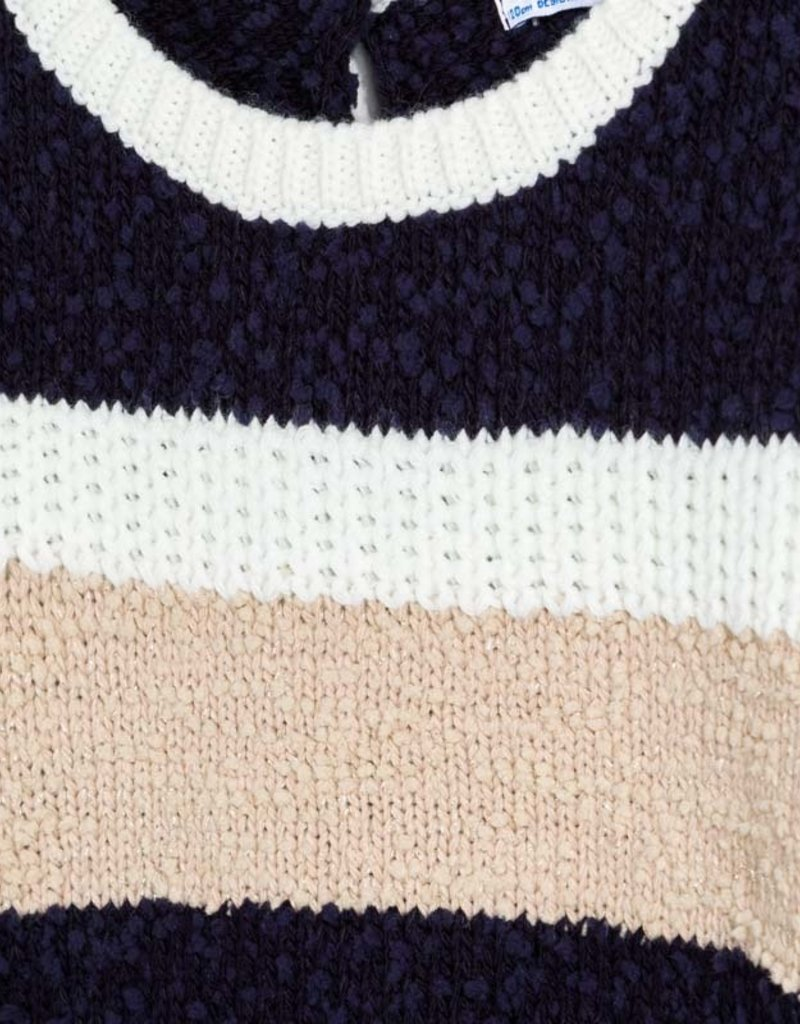 MAYORAL STRIPED KNIT SWEATER