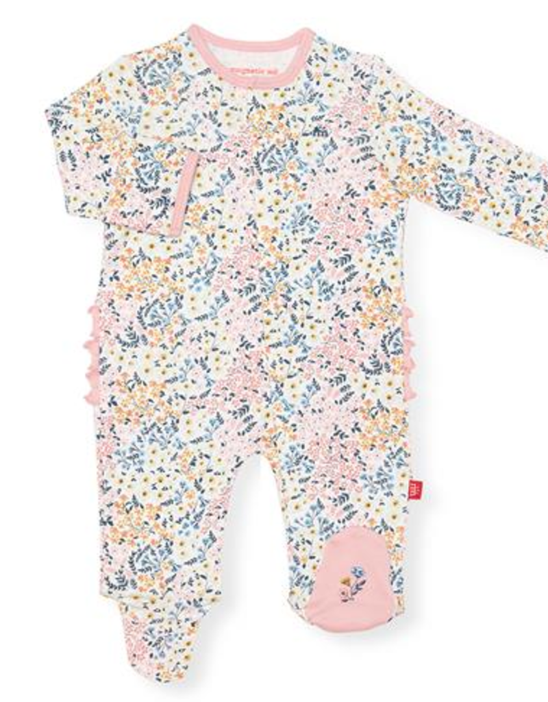 MAGNIFICENT BABY CHELSEA ORGANIC COTTON FOOTIE