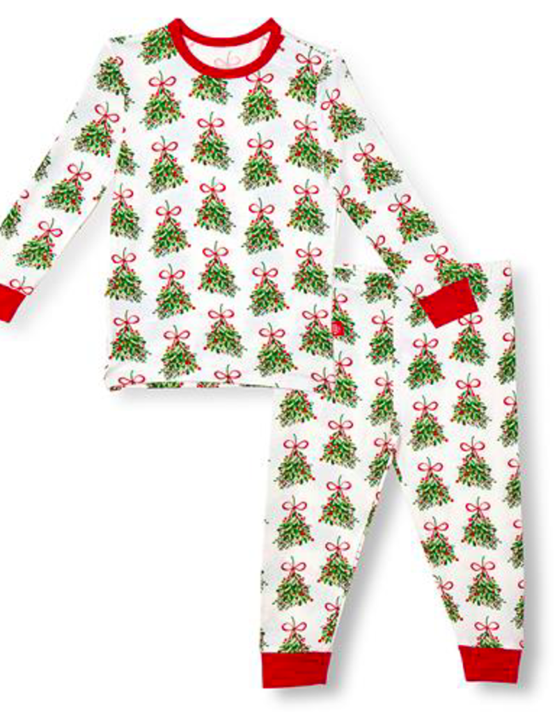 MAGNIFICENT BABY KISS ME MODAL 2PC PJS SET