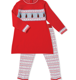 ANGEL DEAR REINDEER KNIT TUNIC & LEGGINGS