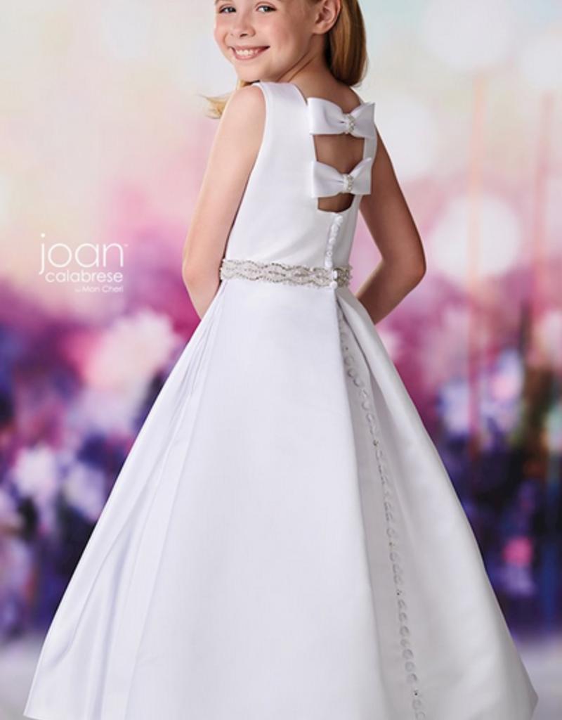 JOAN CALABRESE  SATIN DRESS W/POCKETS
