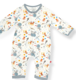 MAGNIFICENT BABY ASTRO PUPS  MODAL COVERALL