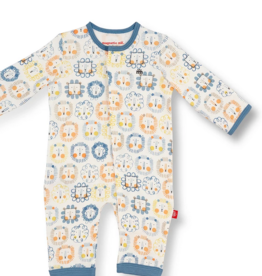 MAGNIFICENT BABY MANE EVENT ORGANIC CTN COVERALL