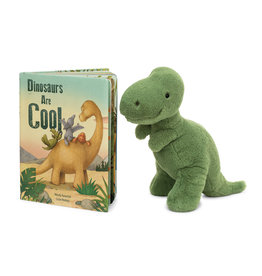 JELLYCAT INC JELLY CAT DINOSAURS ARE COOL BOOK