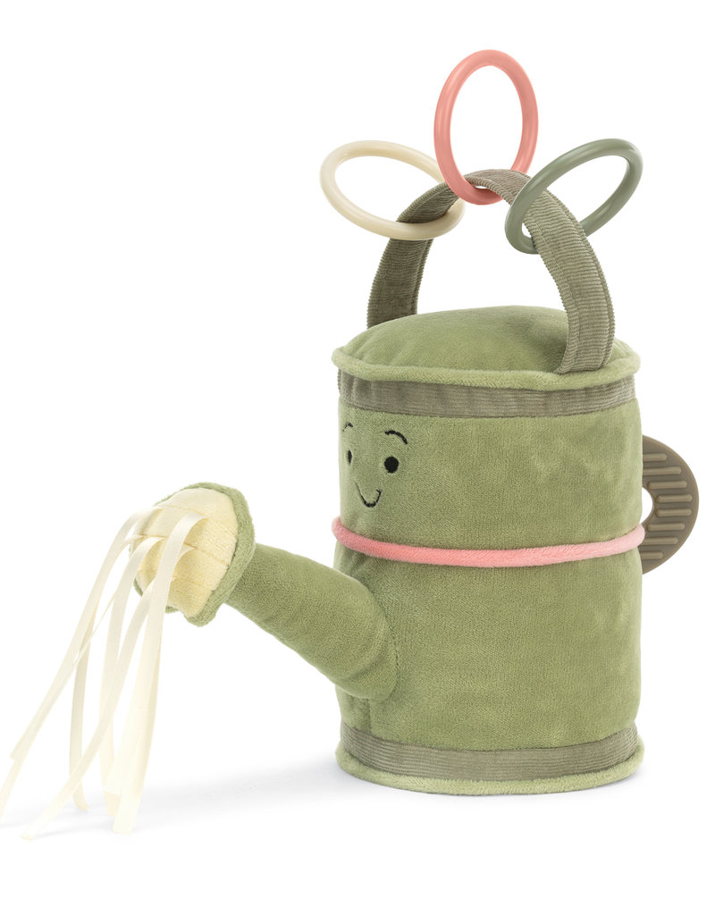 JELLYCAT INC JELLY CAT  WHIMSY GARDEN WATERING CAN