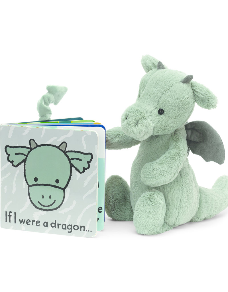 JELLYCAT INC JELLY CAT IF I WERE A DRAGON BOOK