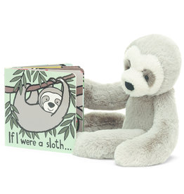 JELLYCAT INC JELLY CAT  IF I WERE A SLOTH BOOK