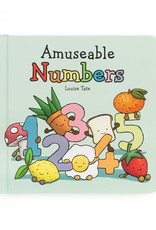 JELLYCAT INC JELLY CAT AMUSEABLE NUMBERS BOARD BOOK