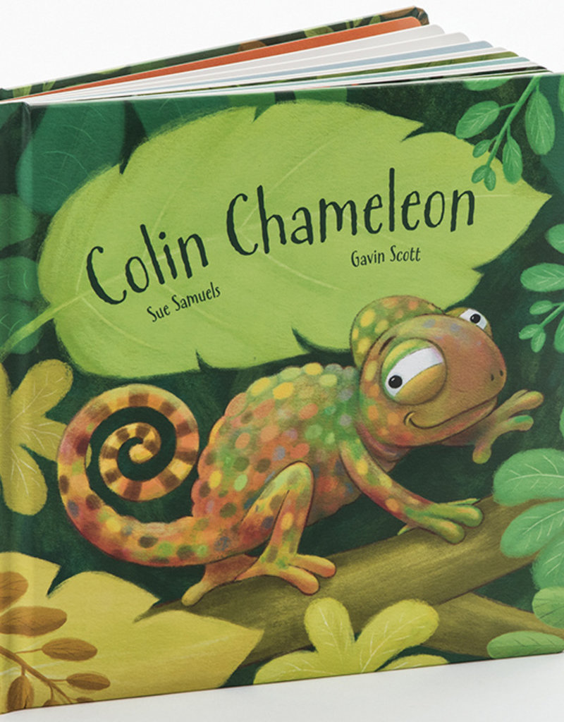 JELLYCAT INC JELLY CAT  COLIN CHAMELEON BOARD BOOK