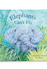JELLYCAT INC JELLY CAT  ELEPHANTS CAN'T FLY BOOK
