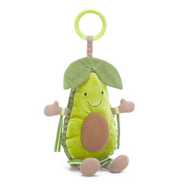JELLYCAT INC JELLY CAT  AMUSEABLE AVOCADO ACTIVITY TOY