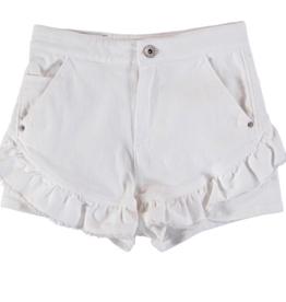 MAYORAL WHITE TWILL SHORT PANT