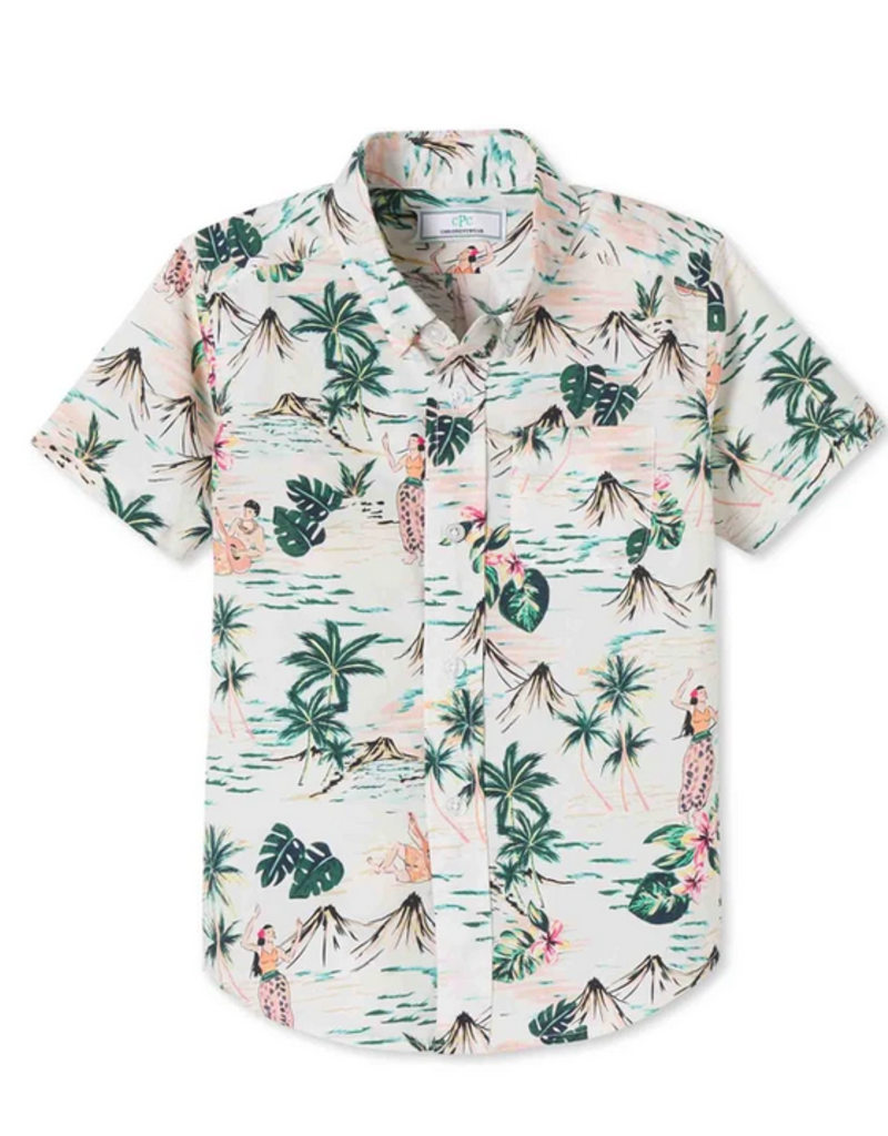 CPC CHILDRENSWEAR OWEN S/S BTD SHIRT