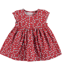MAYORAL HEART PRINT DRESS