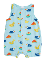 ANGEL DEAR FLOATIES SLVS SHORT ROMPER