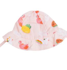 ANGEL DEAR MUSLIN FLOATIES SUNHAT