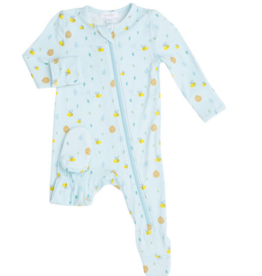 ANGEL DEAR LITTLE BEE ZIPPER FOOTIE