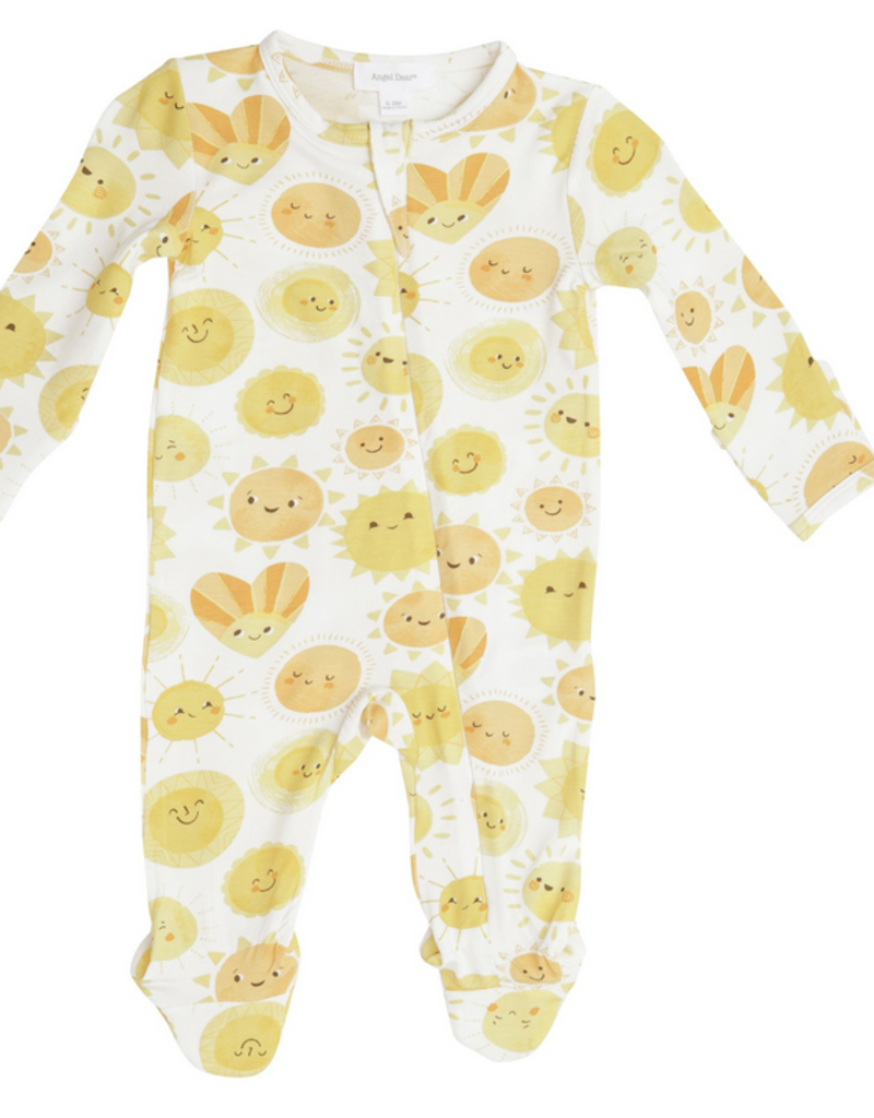 ANGEL DEAR SUNSHINE ZIPPER FOOTIE