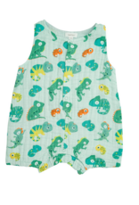 ANGEL DEAR LIZARDS SLVS SHORT ROMPER