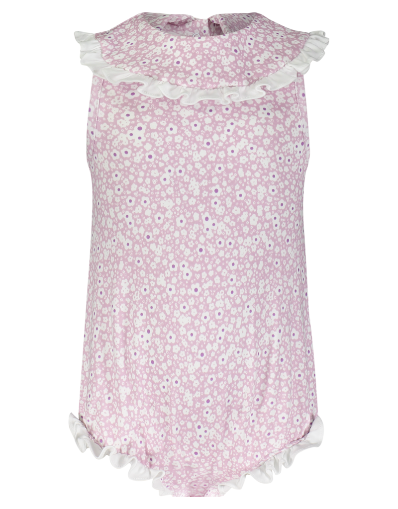 LILA & HAYES ADELE BUBBLE W/RUFFLED BIB COLLAR