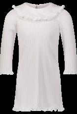 LILA & HAYES MADELINE PIMA DRESS W/RUFFLED BIB COLLAR