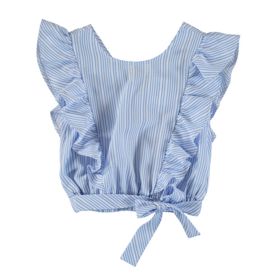 MAYORAL STRIPE BOW LOOSE SHIRT