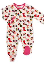 MAGNIFICENT BABY FLITTER FLUTTER  MODAL FOOTIE
