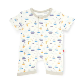 MAGNIFICENT BABY MONTEREY BAY MODAL ROMPER