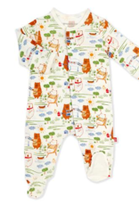 MAGNIFICENT BABY BBQ BEARS MODAL FOOTIE