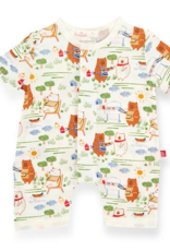MAGNIFICENT BABY BBQ BEARS MODAL ROMPER
