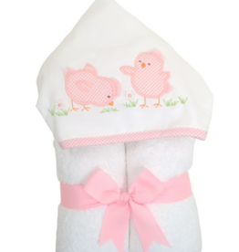 3 MARTHAS PINK EVERYKID CHICK TOWEL
