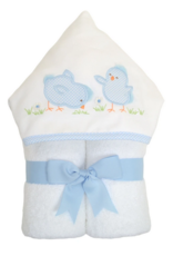 3 MARTHAS BLUE EVERYKID CHICK TOWEL