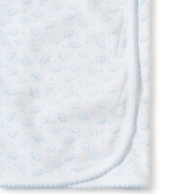 KISSY KISSY BLUE ELE-FUN BLANKET