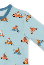 MAGNIFICENT BABY EASY RIDER MODAL FOOTIE