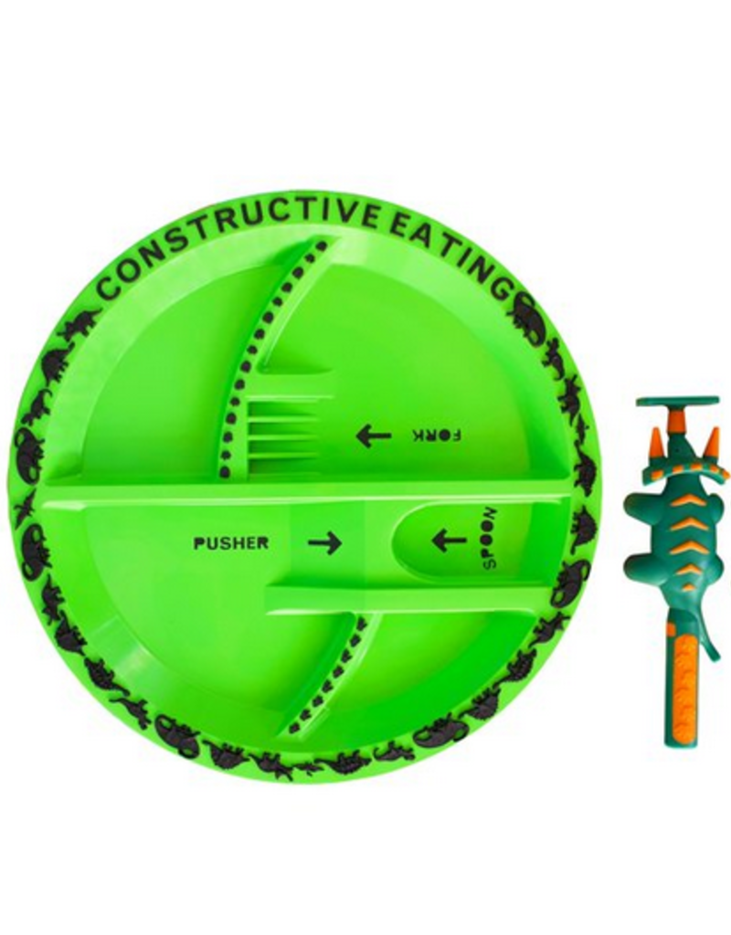 CONSTRUCTIVE EATING DINO PLATE