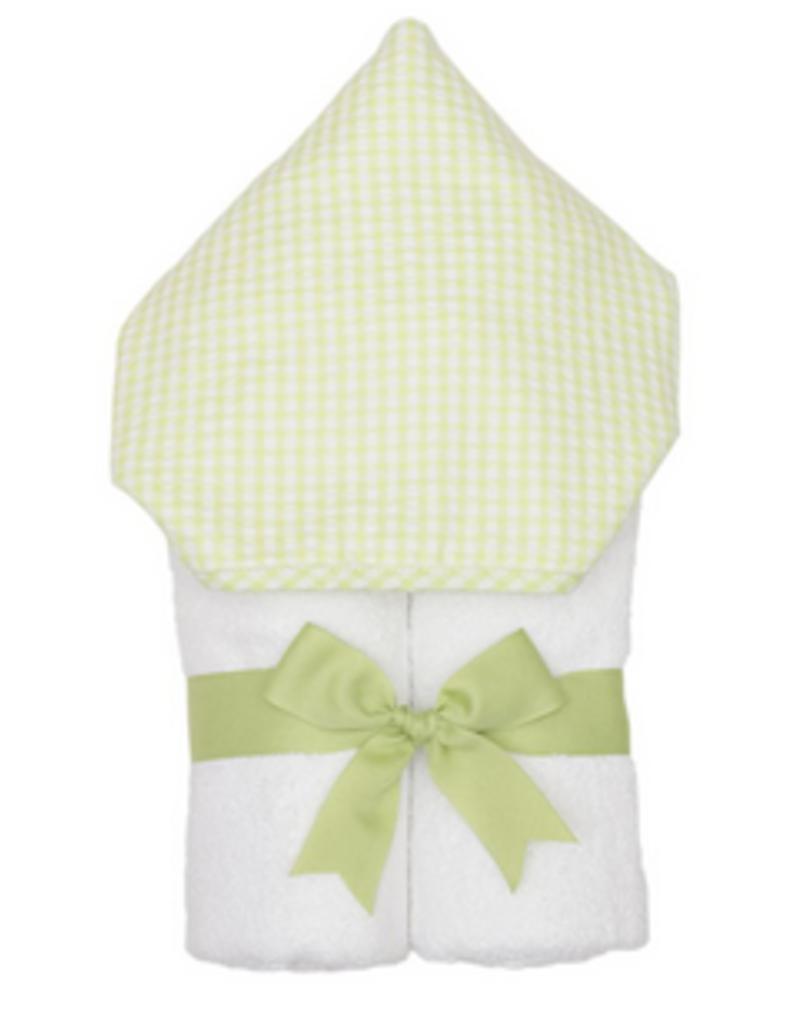 3 MARTHAS GREEN UNISEX EVERYKID CHECK TOWEL