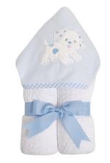 3 MARTHAS BLUE EVERYKID PUPPY TOWEL