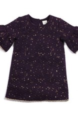 EGG SYBIL QUILTED BELL SLEEVE DRESS