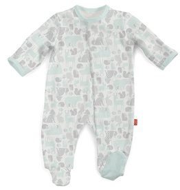 MAGNIFICENT BABY UNISEX  ENCHANTED FOREST FOOTIE
