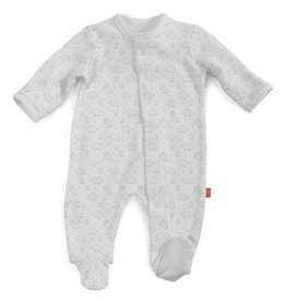 MAGNIFICENT BABY UNISEX CELEBRATION ORG COT FOOTIE