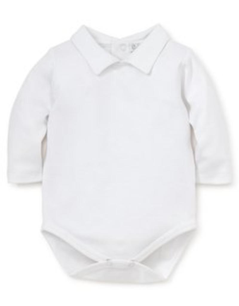 KISSY KISSY KISSY KISSY BOYS LONG SLEEVE BODY SUIT WITH COLLAR