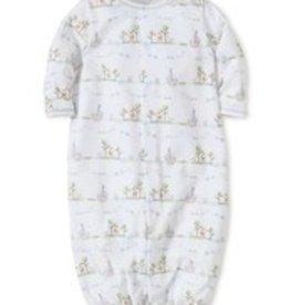 KISSY KISSY NOAH'S PRINT CONVERTER  GOWN WITH HAT